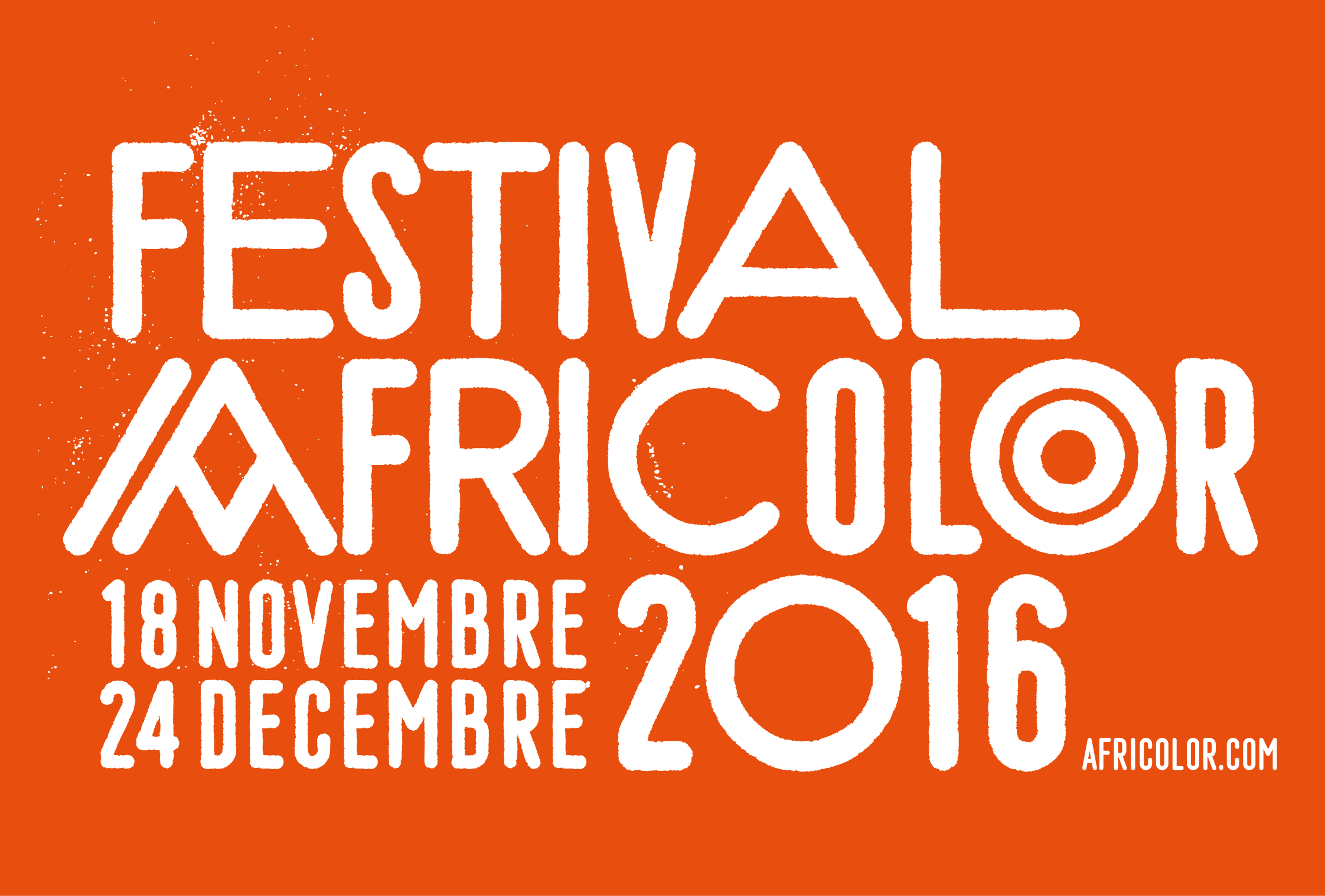 Festival Africolor Title