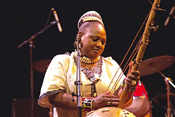 Le Kaladjula band de Nainy Diabaté