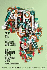 Affiche Africolor Festival 2015