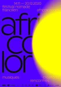 Affiche Africolor Festival 2020