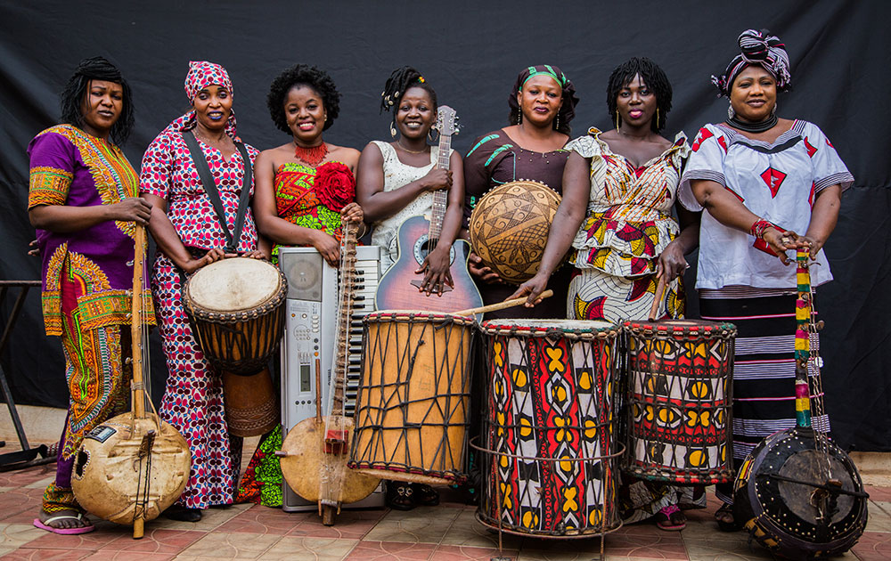 Kaladjula Band en concert au festival Africolor le 20.12.2020
